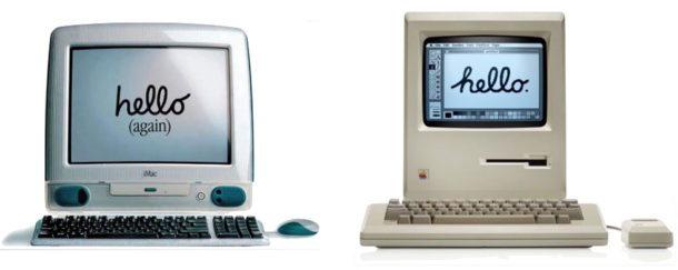 Ciao Macintosh, ciao di nuovo iMac