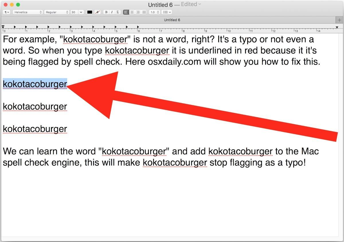Seleziona la nuova parola per imparare l'ortografia