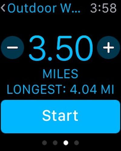 Cambia l'allenamento da miglia a chilometri su Apple Watch