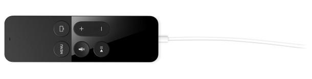 Ricarica il telecomando Apple TV