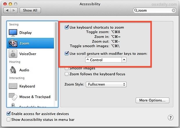 Abilitazione dello zoom per rimuovere le barre nere sulla riproduzione video