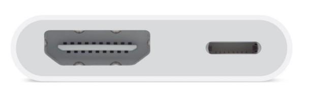 Adattatore da Lightning a HDMI per il mirroring del display iOS