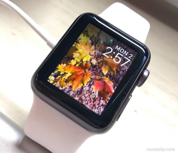 Foto personalizzata di Apple Watch