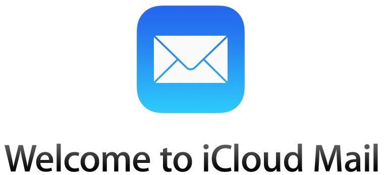 Benvenuto nella conferma di iCloud Mail dopo che è stata effettuata l'email di iCloud.com