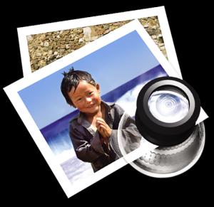 Icona di anteprima in Mac OS X