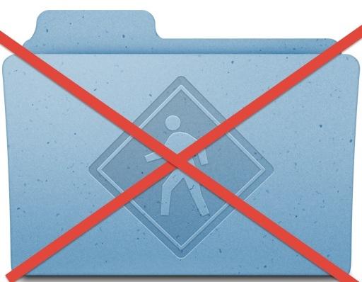 Disabilitare la condivisione di cartelle pubbliche Mac