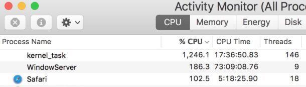 Kernel fallisce quando l'estensione Safari è disabilitata mentre molte schede sono attive