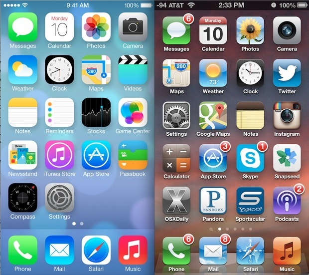 Ripristina iOS 7 con iOS 6 tramite il downgrade