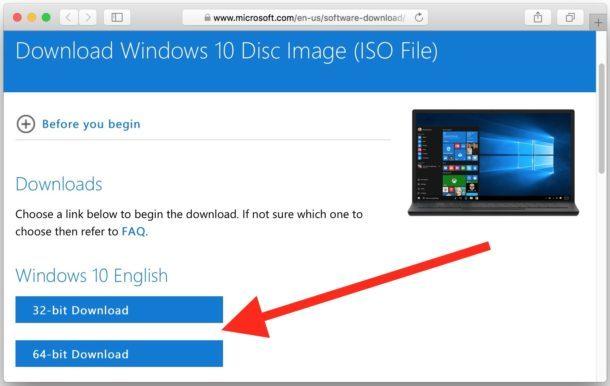 Scarica Windows 10 ISO gratuito da Microsoft