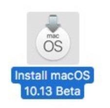 Installer MacOS High Sierra