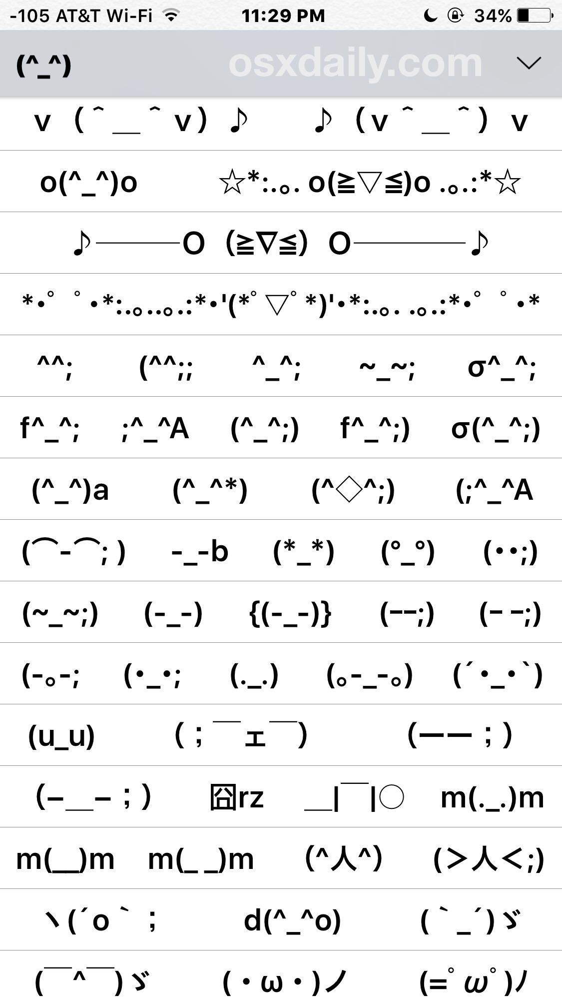 Emoticon keyboard su iPhone