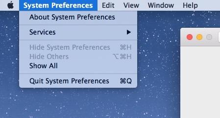 Il menu modalità luce abbassa Mac
