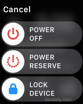 Come abilitare la riserva di carica su Apple Watch