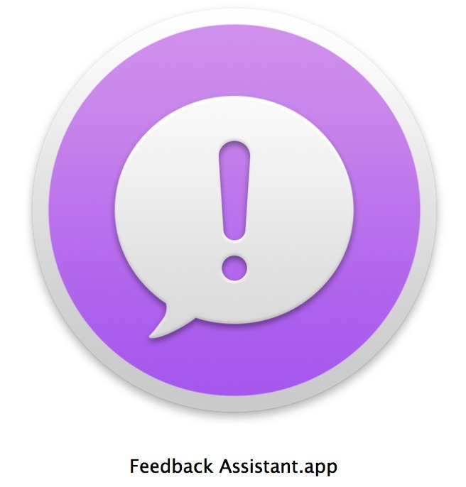 Feedback Assistant su Mac