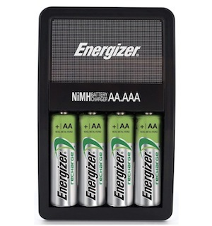 Sostituire le batterie con batterie ricaricabili