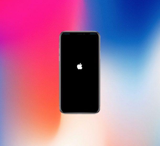 Forza il riavvio di iPhone X