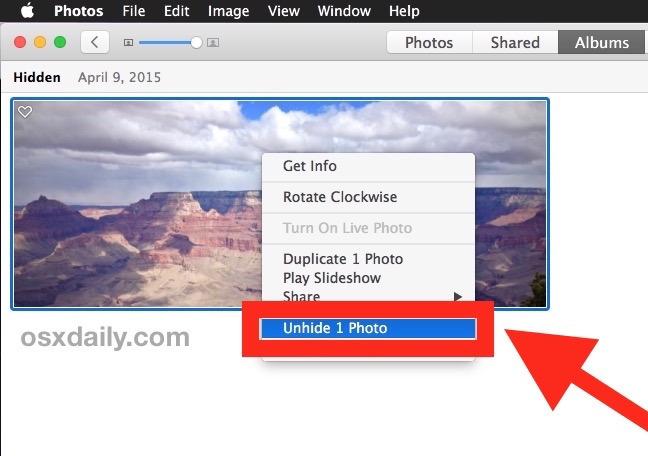 Scopri una foto in Photos for Mac