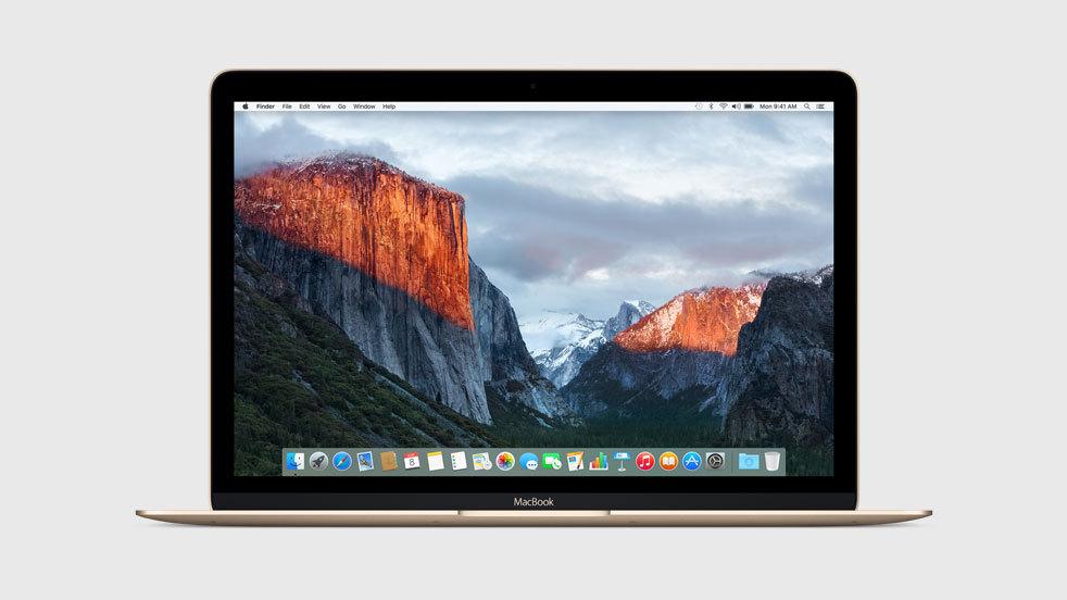 OS X El Capitan su un Mac