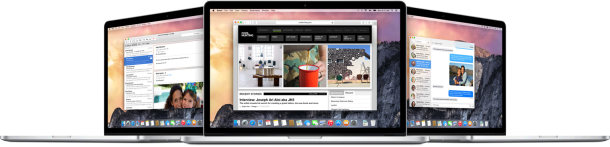 OS X Yosemite Macs
