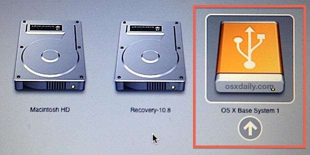 Unità di installazione avviabile di OS X Mavericks