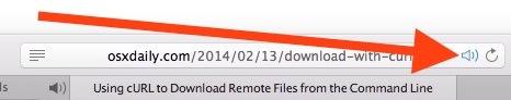 Disattiva tutte le schede audio in Safari