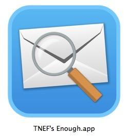 TNEF Abbastanza aperti i file dat Winmail in Mac OS X