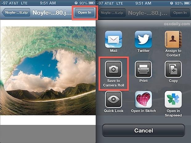 Decomprimi un archivio zip in iOS