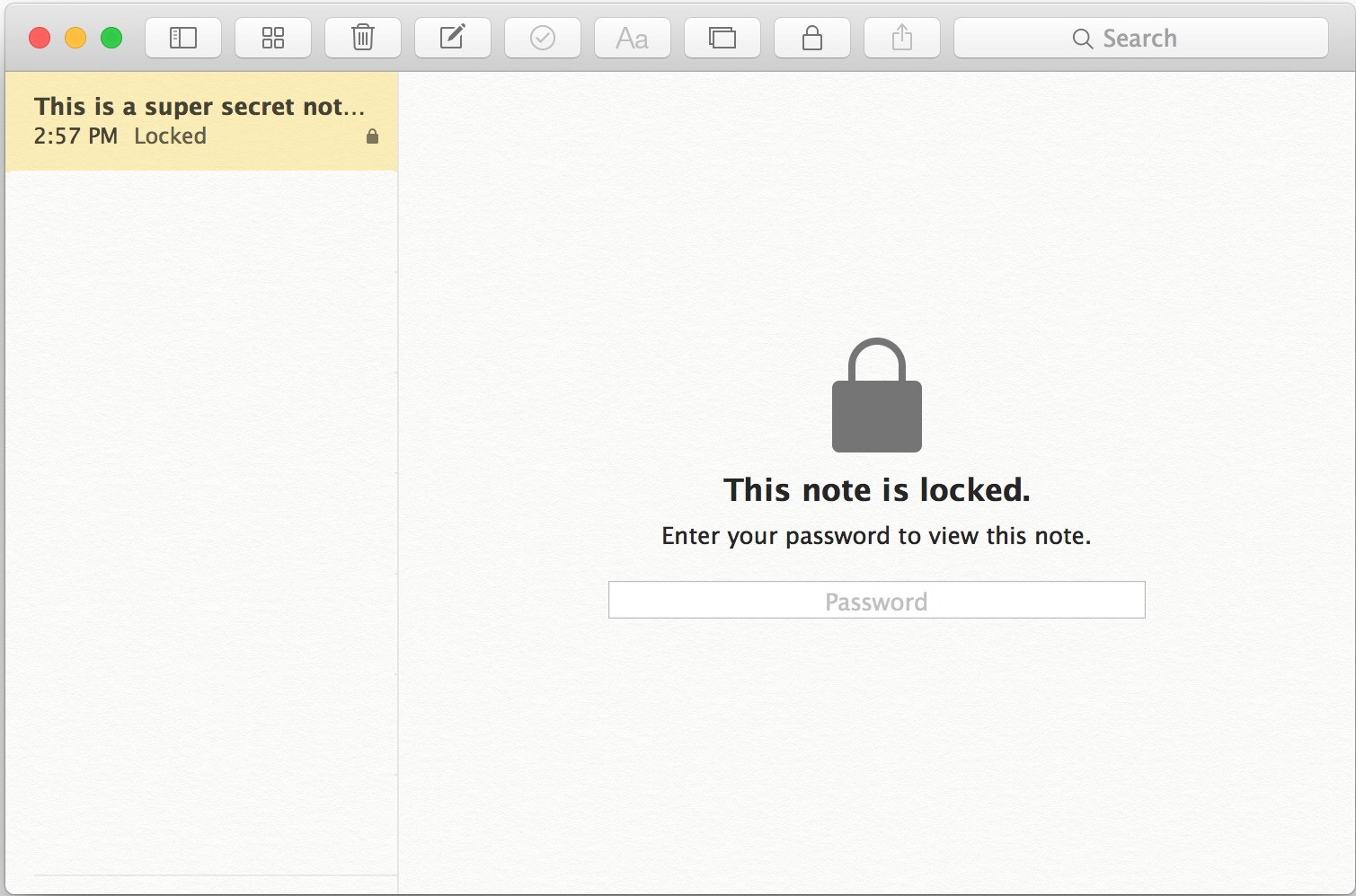 proteggere con password-Notes-mac-os-x-6
