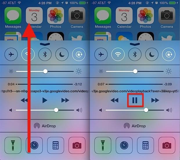 Riproduci YouTube sullo sfondo di un iPhone / iPad