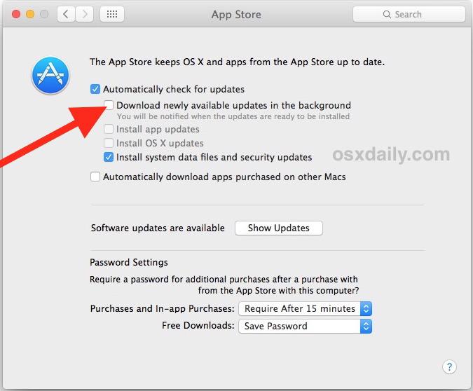 Come smettere di scaricare automaticamente macOS High Sierra