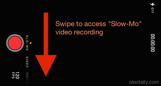 Registra video al rallentatore con iPhone