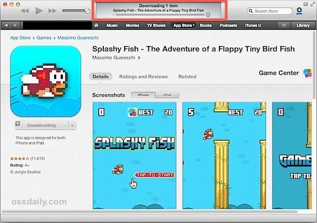 iTunes scarica le app da remoto su iPhone