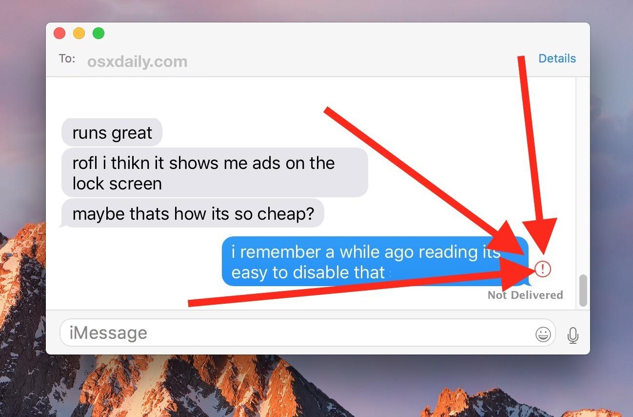 Come inviare nuovamente un messaggio su Mac