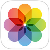 L'icona iOS dell'app Foto