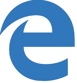 Icona Microsoft Edge trasparente