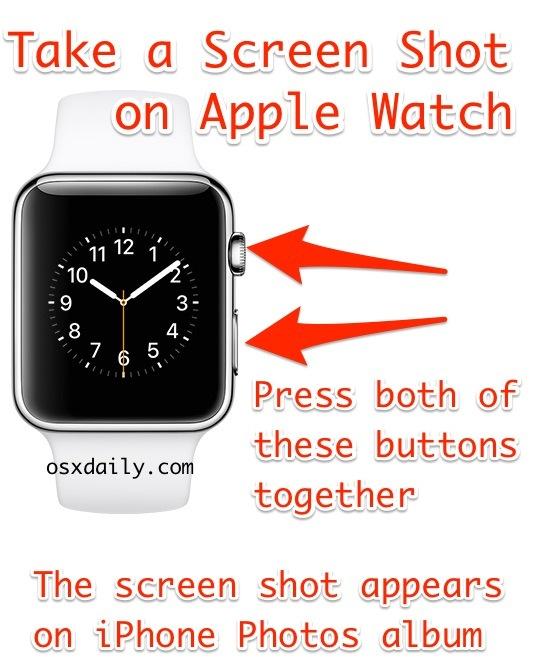 Come fare uno screenshot su Apple Watch