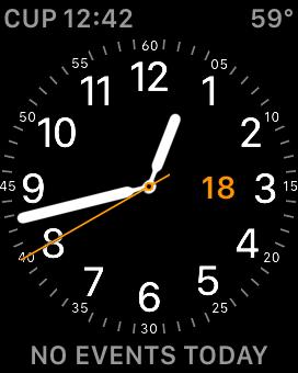 Volto di Apple Watch