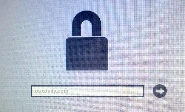 una password del firmware del Mac