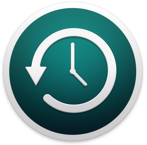 Icona Time Machine in Mac OS X