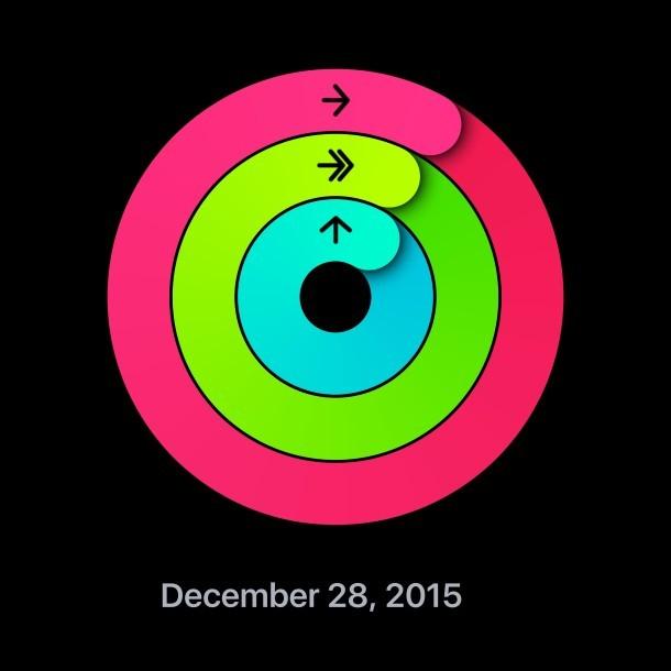 Condivisione dell'anello di attività su Apple Watch e iPhone