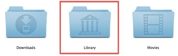 Cartella della libreria in OS X