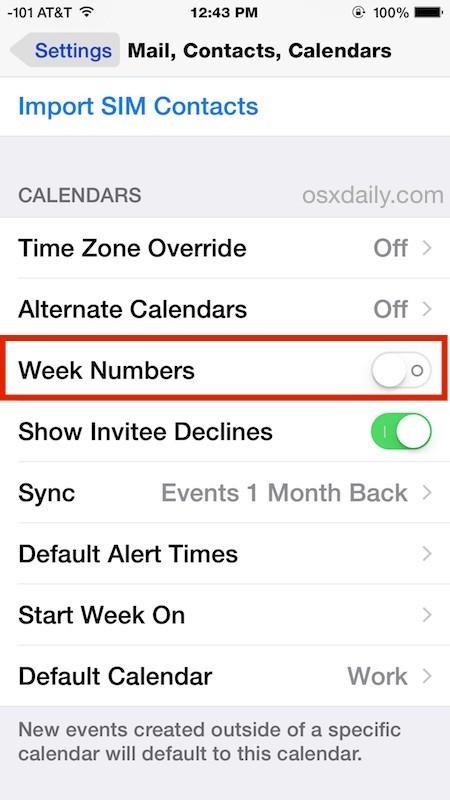 Settimane Calendario.Come Mostrare I Numeri Delle Settimane Nel Calendario Per