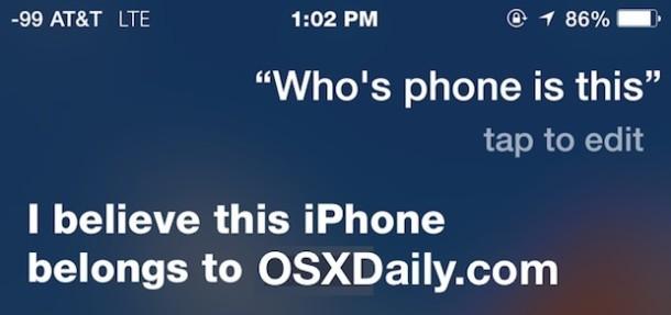 ask-siri-whos-iphone-è-questo-identificare-lost-iphone-proprietario