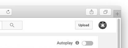 YouTube disattiva il video a riproduzione automatica