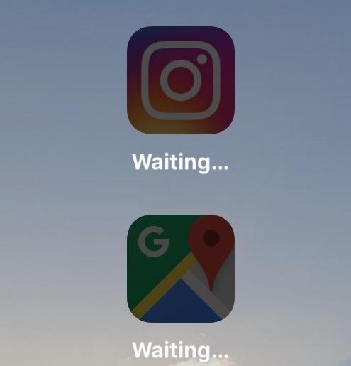 Aggiornamento di app etichettate come Waiting in iOS