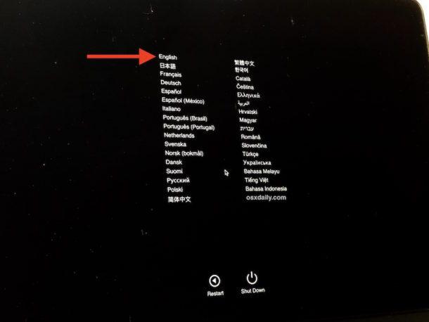 Apple Diagnostics su Mac