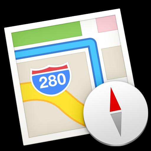 Icona di Apple Maps in OS X