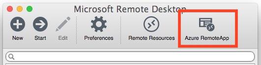 Azure accede a IE 11 su Mac