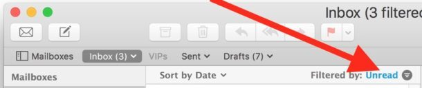 Filtra immediatamente la posta Mac per i messaggi non letti