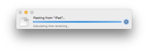 Copia e incolla con Universal Clipboard iOS to Mac